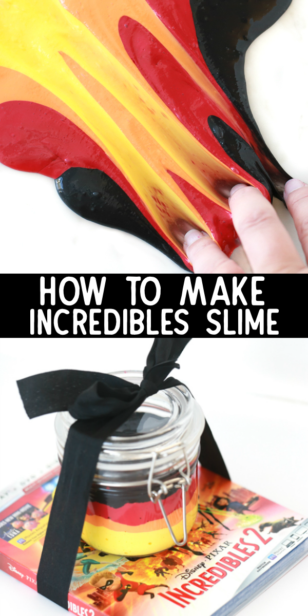 how to make incredibles slime