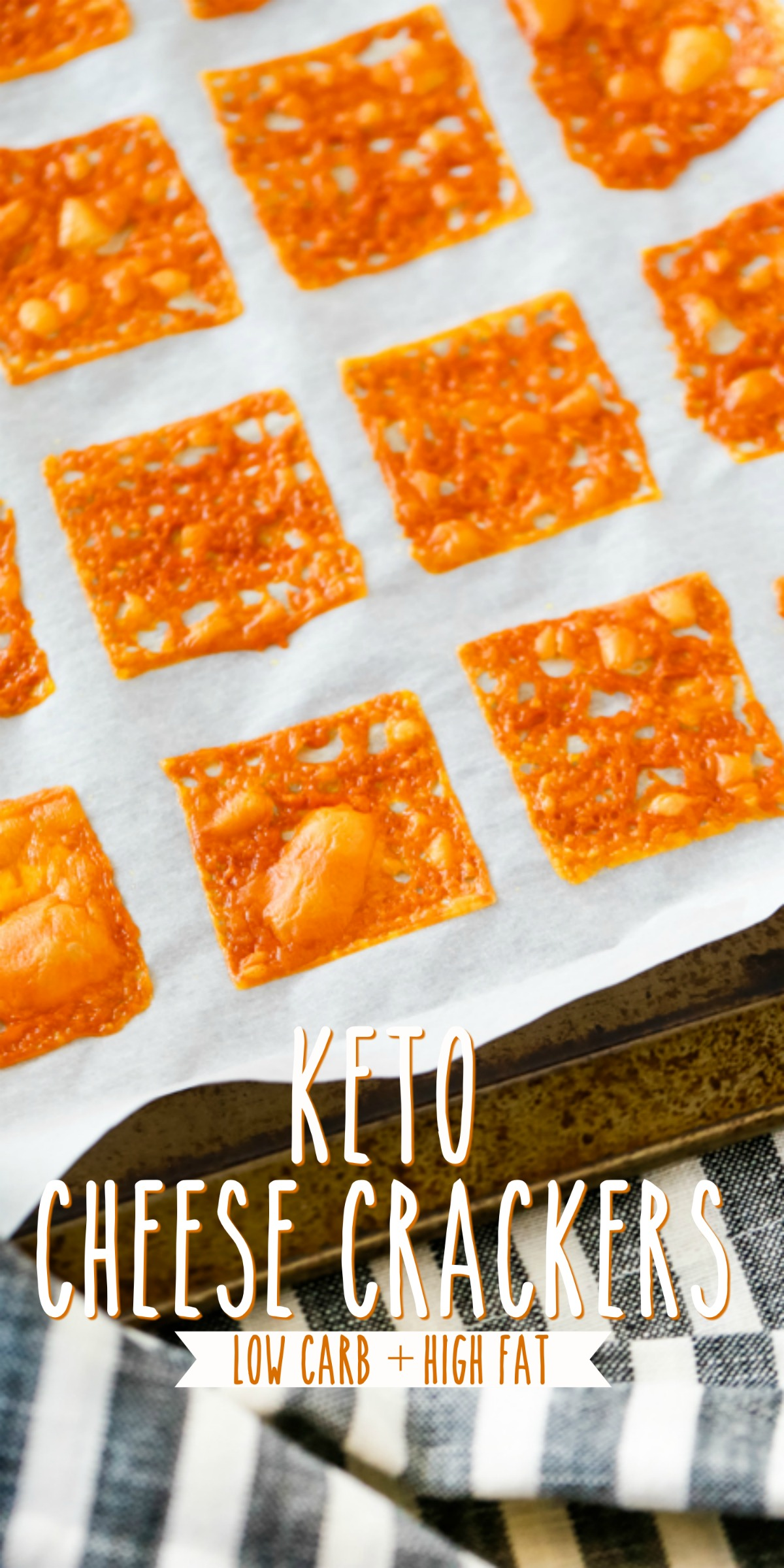 how to make keto cheese crackers
