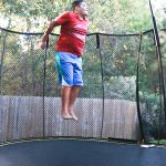 Taking a Time Out with Springfree Trampoline this Holiday Season