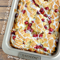 Lightened Up Cran-Apple Kuchen