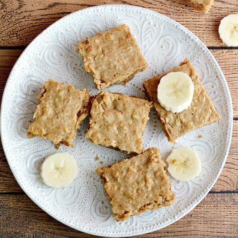 Peanut Butter Banana Oatmeal Bars