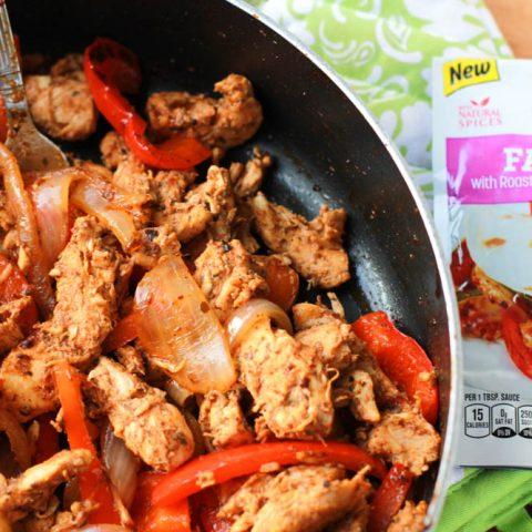 Easy Fajita Chicken Taquitos