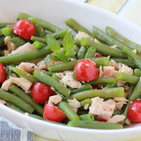Green Bean and Tuna Salad