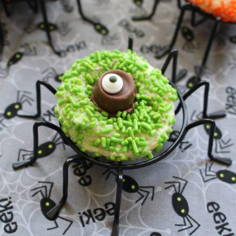 Rolo Halloween Cookies | Spider Eye Cookies for Halloween