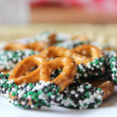 St. Patrick's Day Inspired Pretzels