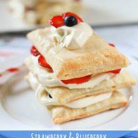 Strawberry & Blueberry Napoleon