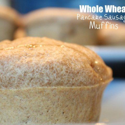 Whole Wheat Pancake Sausage Muffins