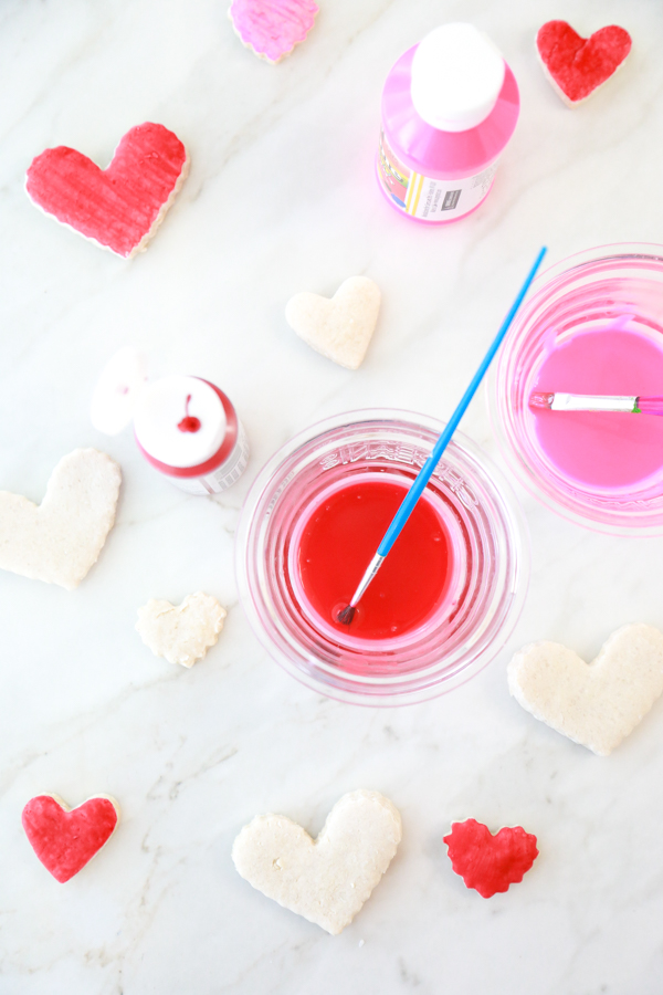 how to make salt dough hearts