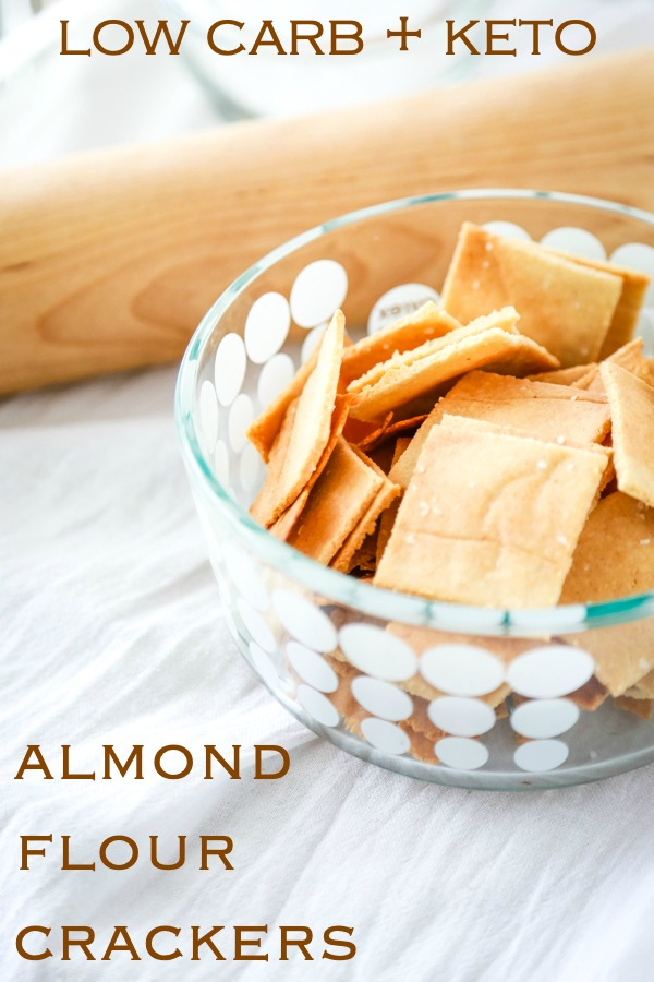 almond flour cracker recipe