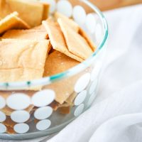 Low Carb Almond Flour Crackers