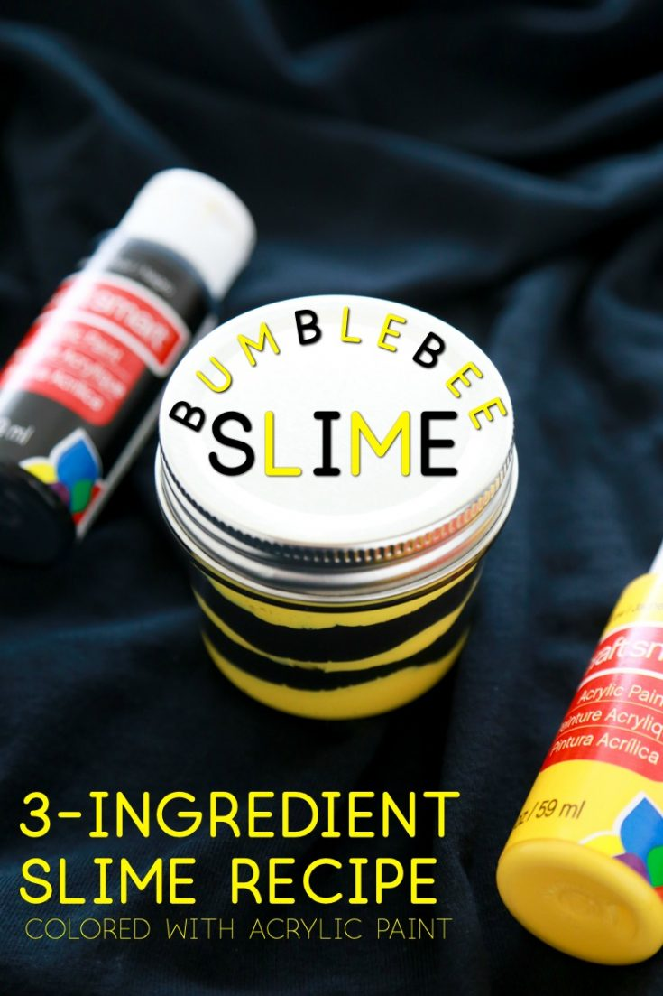 If you've got the ultimate Bumblebee fan in your house, then this Bumblebee Slime is sure to be a hit. Plus, I have the best gift ideas for Bumblebee fans that will knock their socks off. #slimerecipe #howtomakeslime #acrylicpaintslime #bumblebeeparty #bumblebeecrafts