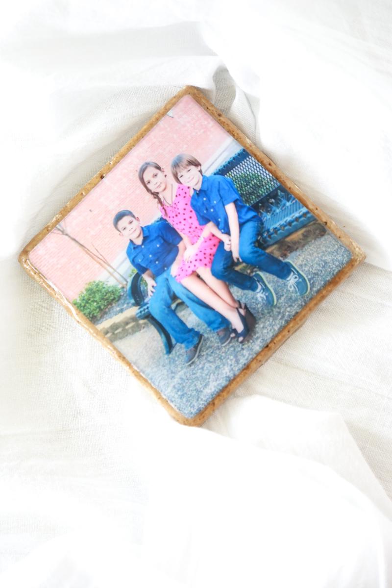 photo coaster diy