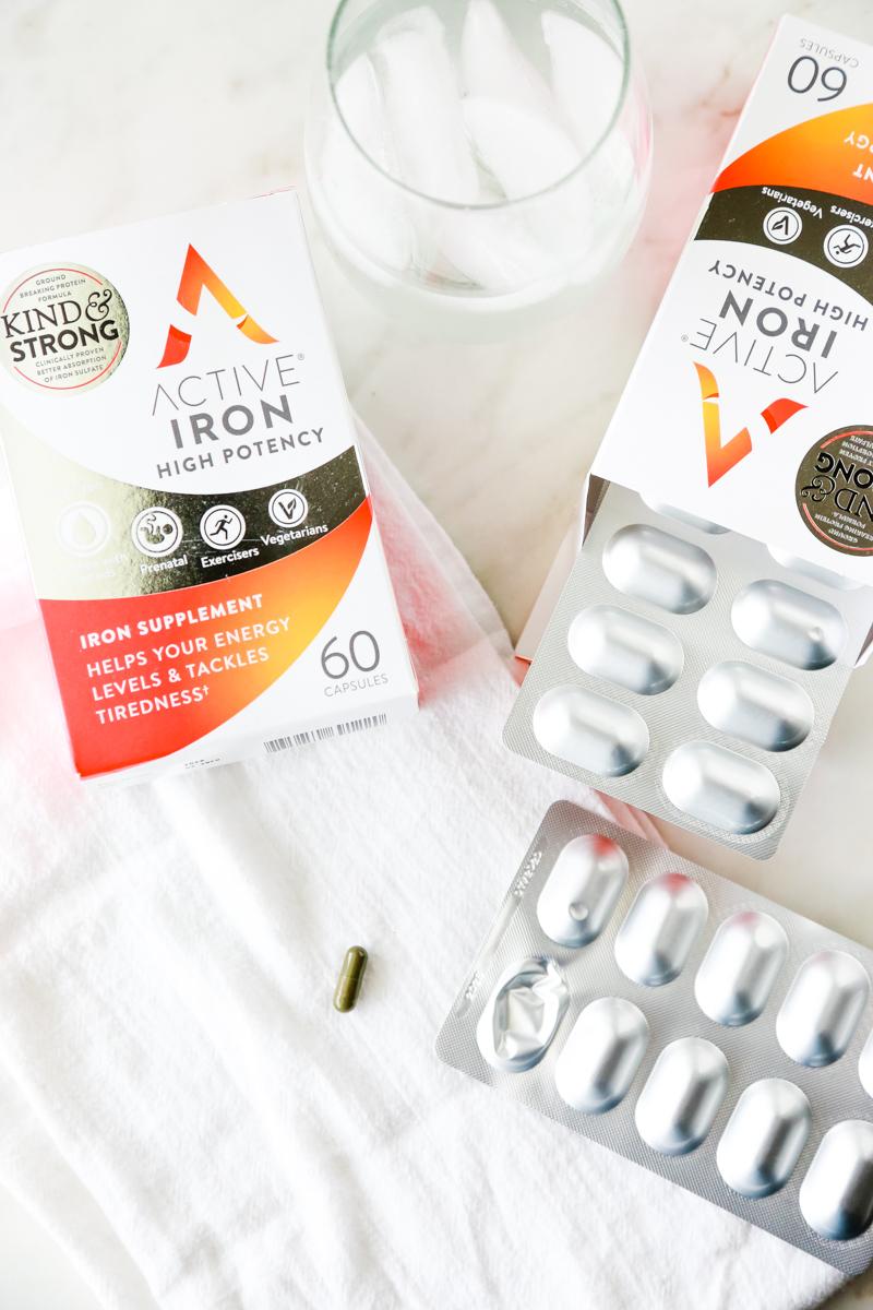 active iron supplement