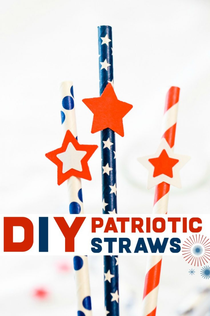 Whether you're celebrating Memorial Day, Independence Day, or Labor Day, these Patriotric Straws make the perfect festive touch to your celebrations. #memorialday #laborday #july4th #4thofjuly #independenceday