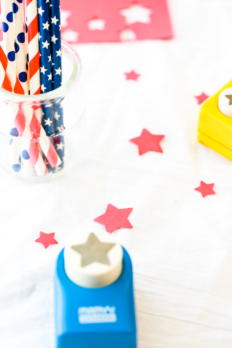 how to make patriotic straws
