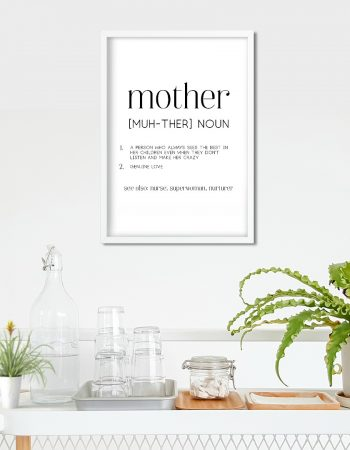 mother definition printable