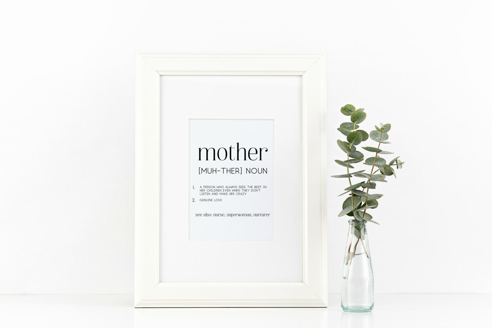 mother definition art