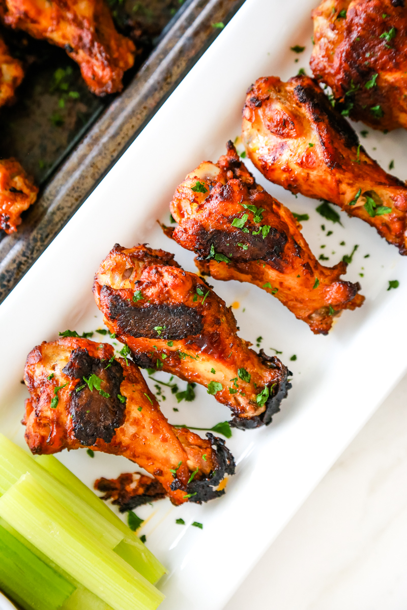 spicy chicken wing recipe