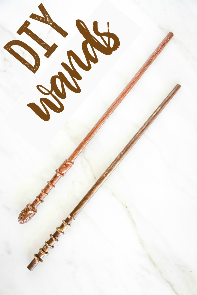 homemade harry potter wand