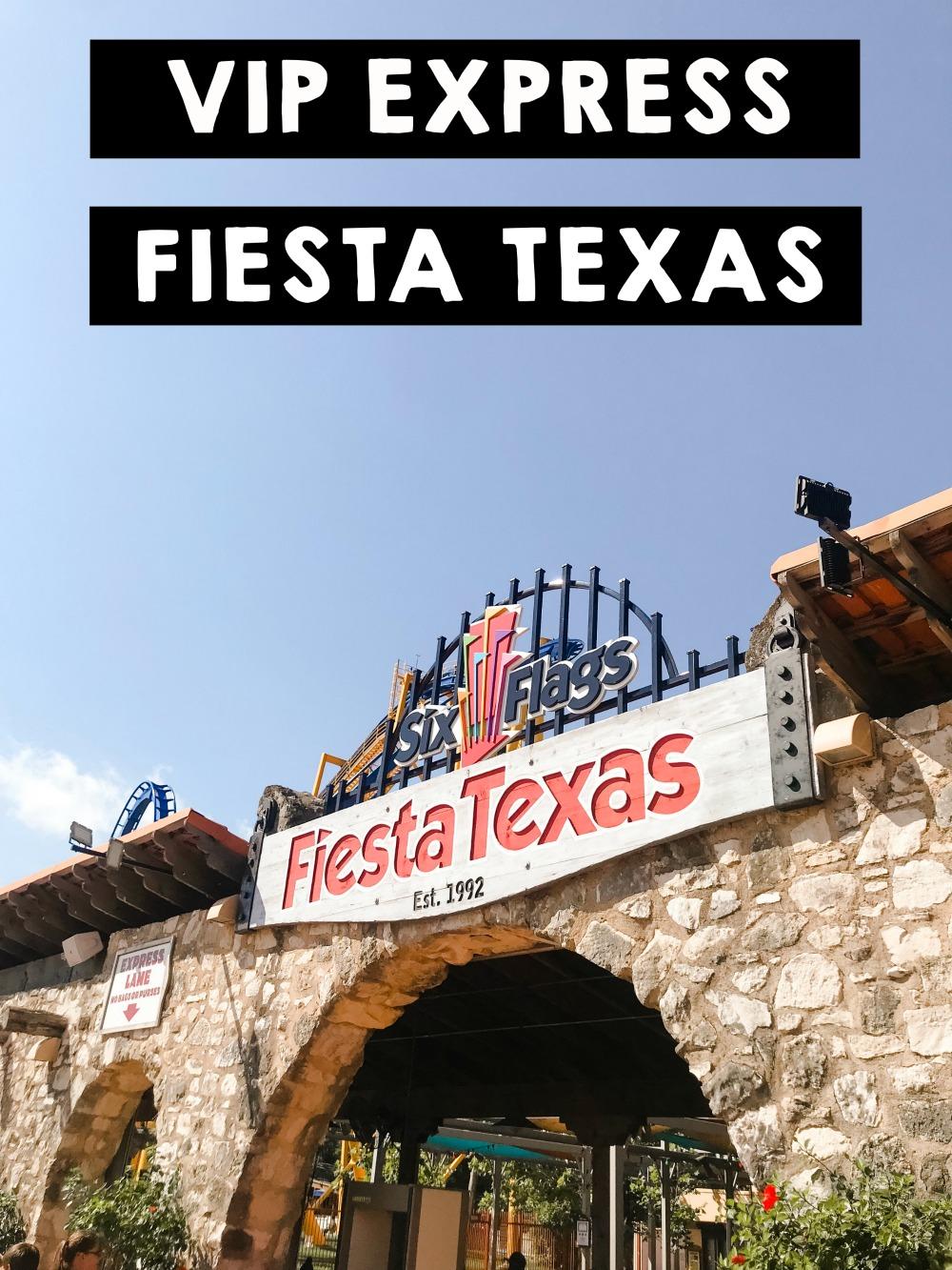 vip express fiesta texas