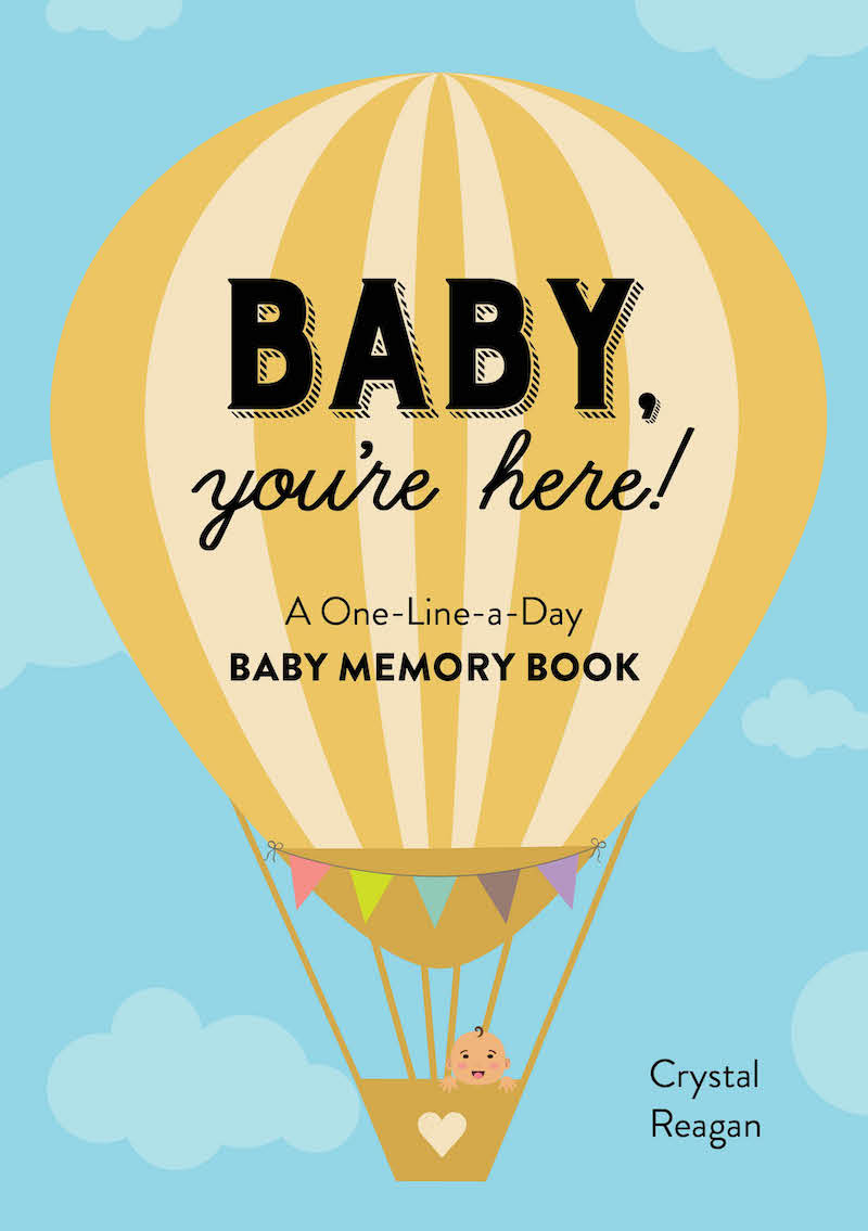baby youre here memory book