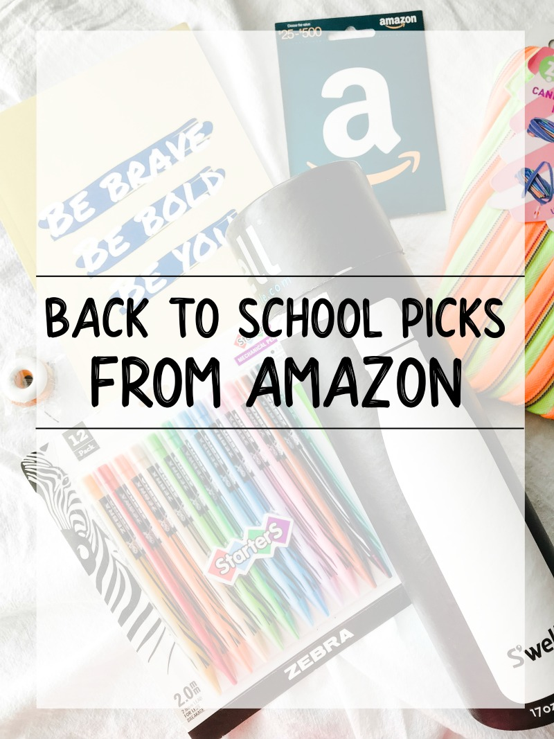 back to school picks from amazon