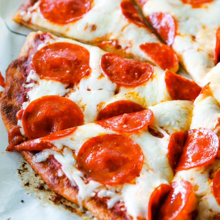 Fat Head Pepperoni Pizza